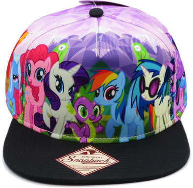 My Little Pony Brony Sublimated Snapback Hat - Snapback Empire