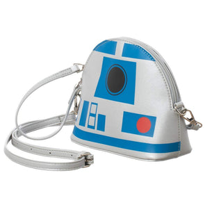 Star Wars R2-D2 Crossbody Handbag Purse - Snapback Empire