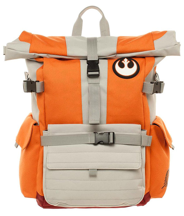 Star Wars Rebel Pilot Roll Top Backpack - Snapback Empire