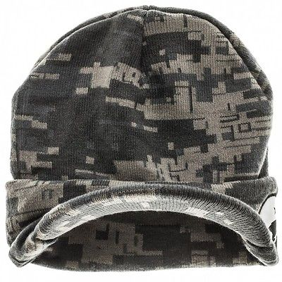 Halo 5 UNSC Camouflage Cuff Visor Billed Knit Beanie Hat - Snapback Empire