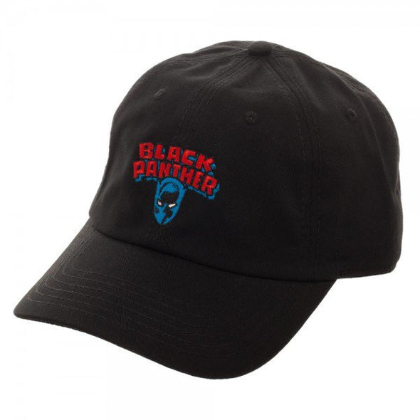 Marvel Black Panther Curved Bill Hat - Snapback Empire