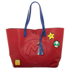 Nintendo Super Mario Tote Bag Purse - Snapback Empire