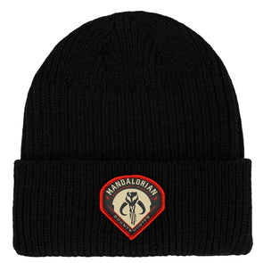 Star Wars The Mandalorian Patch Beanie - Snapback Empire