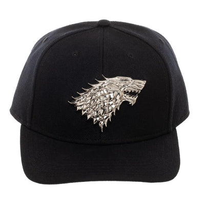 Game of Thrones House Stark Pre-Curved Bill Snapback Hat - Snapback Empire