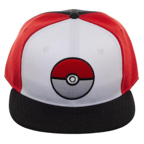 Pokeball Color Block Snapback - Snapback Empire