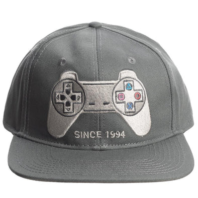 Sony PlayStation Controller Retro Snapback Hat - Snapback Empire