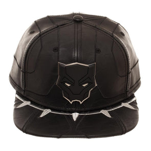 Black Panther Suit Up Snapback Hat - Snapback Empire