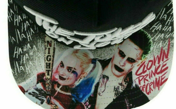 Harley Quinn The Joker Sublimated Snapback Hat - Snapback Empire