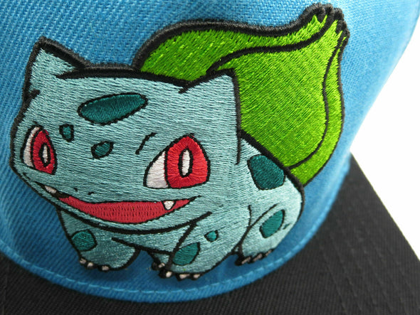 Pokemon Bulbasaur Nintendo Snapback Hat - Snapback Empire