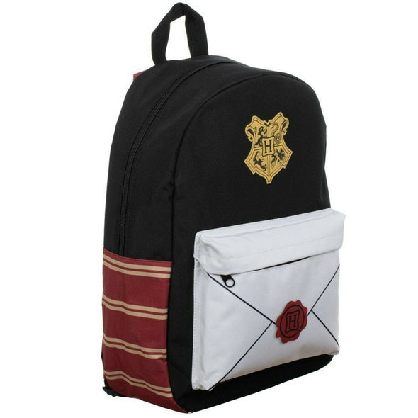 Harry Potter Envelope Sublimated Panel Print Backpack - Snapback Empire