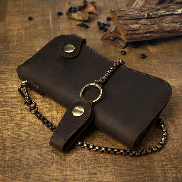 RFID Blocking Chain Wallet - c6d9.co [#product_title]