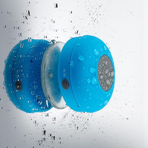 Bluetooth Shower Speaker (with suction pad) - c6d9.co [#product_title]