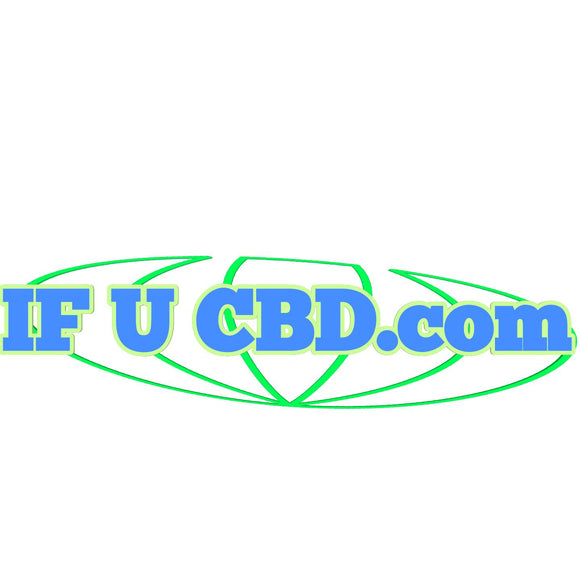 IF U CBD.com -  CBD related Premium Domain Name with Custom Logo - Easy to remember! - c6d9.co [#product_title]