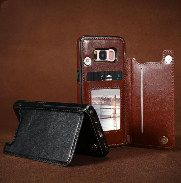 4 in 1 Luxury Leather Case For Samsung Phones - c6d9.co [#product_title]