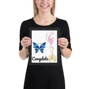 """Complete"" Inspirational Poster and Canvass Prints - c6d9.co [#product_title]"