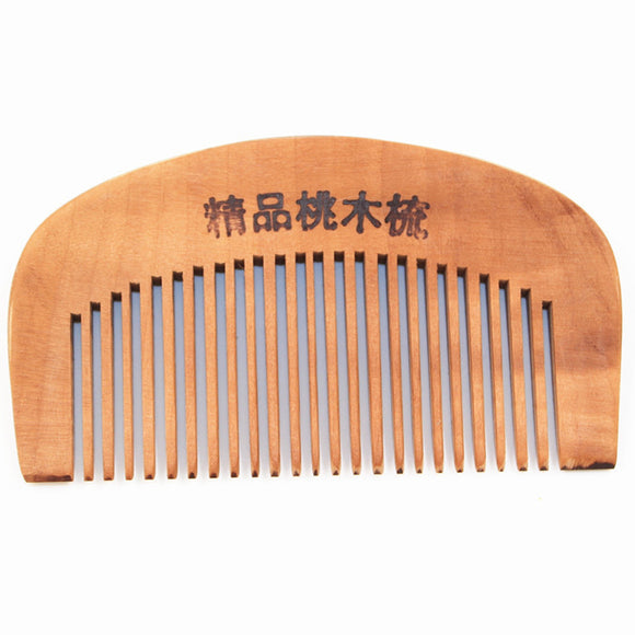 Pocket Comb Handmade Sandalwood Anti-Static  for hair Beard And Mustache Combs Hair Brush M02861 - c6d9.co [#product_title]