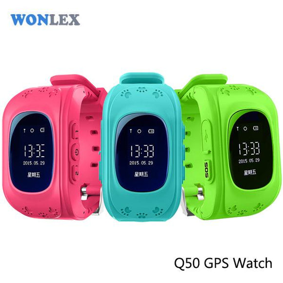 Kids Smart Watch with GPS Tracker - c6d9.co [#product_title]