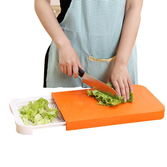 3 in 1 Cutting Board with Built in Colander Cutting Board/Colander Combo - c6d9.co [#product_title]