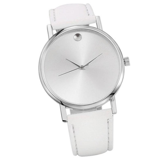Designer Single Jewel with Black Face Women's Watch - c6d9.co [#product_title]