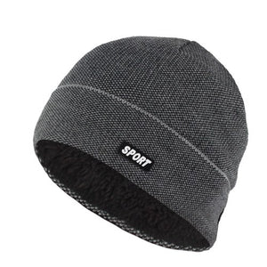 Skullies Knitted hat For Men and Women Fleece  Beanie - c6d9.co [#product_title]