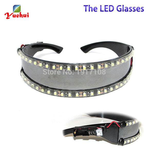 12V 23A LED Glasses Laser Glasses For Nightclub Performers led glasses party Dancing Glowing LED Mask Rave Glasses - c6d9.co [#product_title]