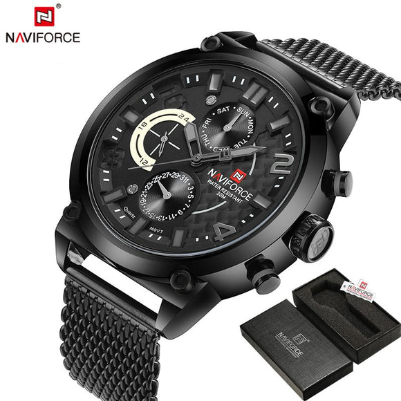 Original Brand Stainless Steel Quartz Sports Military WristWatch - c6d9.co [#product_title]