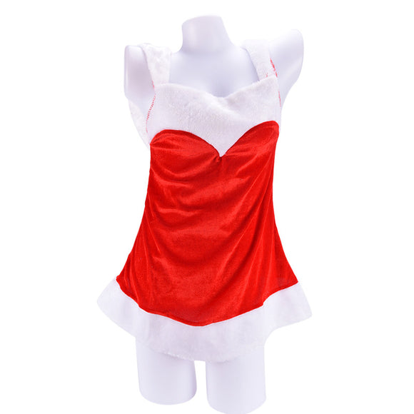 Festival Costumes Female Lingerie  / Halloween / Role Playing Sexy Santa Clause - c6d9.co [#product_title]