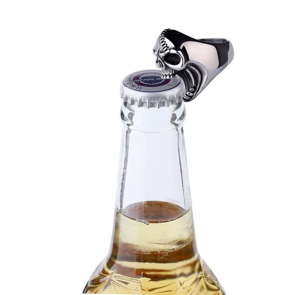 Skull Ring Bottle Opener - c6d9.co [#product_title]