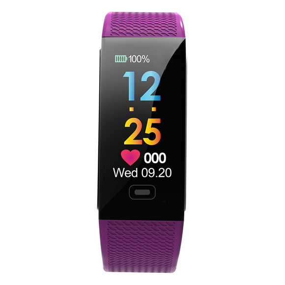 Smart Bracelet with Color Screen Pink, Blue, Purple - c6d9.co [#product_title]