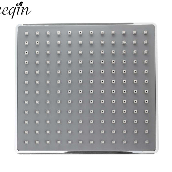 8 Inches Oversized Square Panel High Pressure Rain Shower Head - c6d9.co [#product_title]