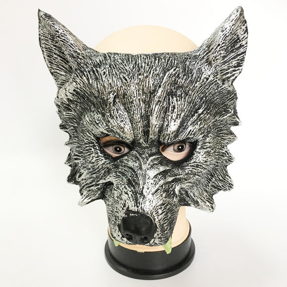 Werewolf latex Mask Halloween Animal Costume latex hood Wolf Mask Cosplay Masquerade Carnival Purim masked ball Rave party dress - c6d9.co [#product_title]