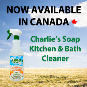 Charlie's Soap Kitchen & Bath Cleaner Has Arrived!