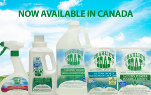 Charlie's Soap Now Available Online in Canada