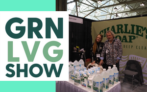 Charlie's Soap Canada at the Green Living Show 2019
