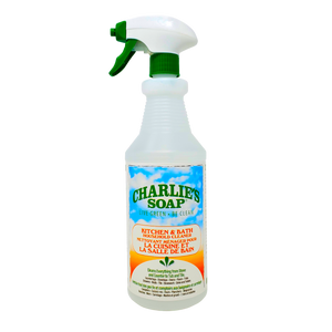 Charlie's Soap Kitchen & Bath Cleaner 946 ml