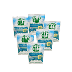 Bulk Case Charlie's Soap Laundry Packets 30 Loads
