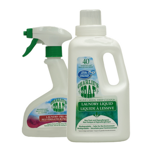 Charlie's Soap Laundry and Cleaning Bundle