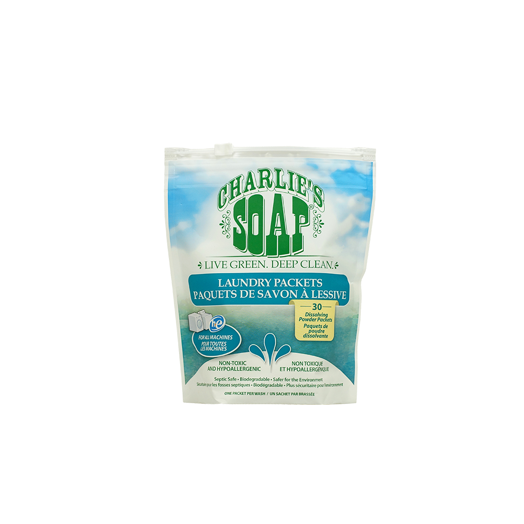 Charlie's Soap Laundry Packets - 30 loads