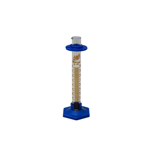 10ml Graduated Cylinder with Plastic Guard and Base