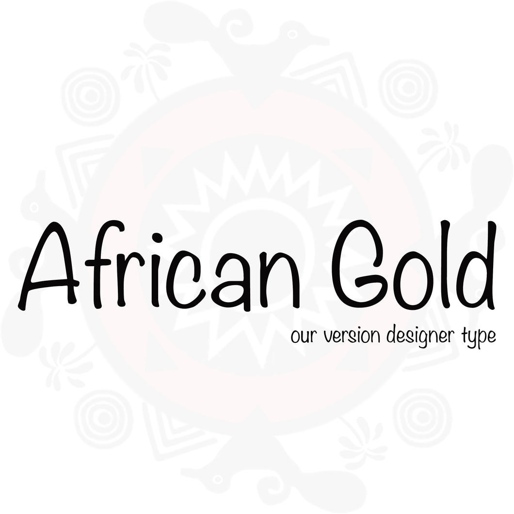 African Gold type compared to African Gold type