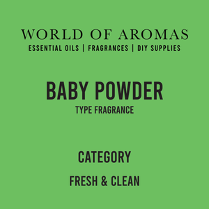Baby Powder Type Fragrance
