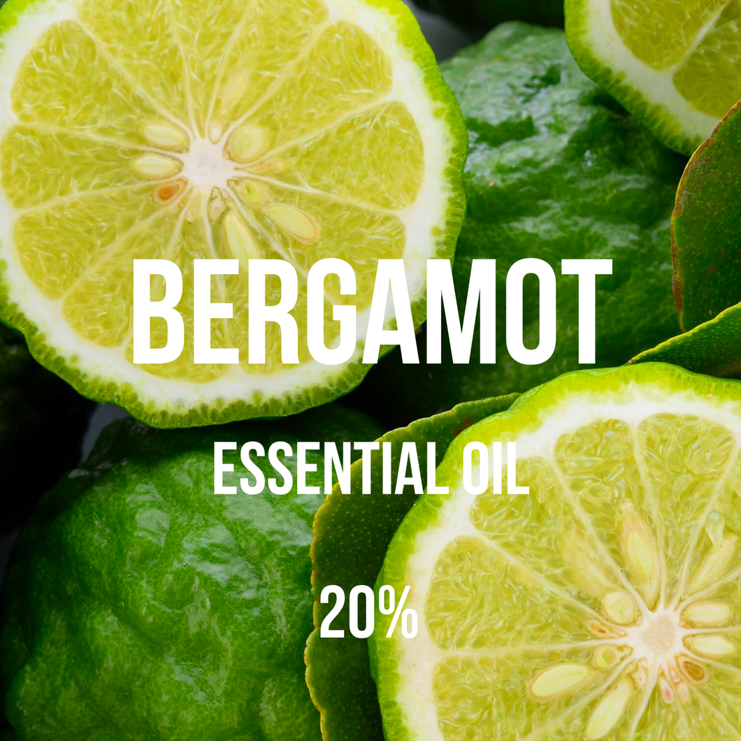Bergamot Essential Oil 20% Dilution (Citrus Bergamia)