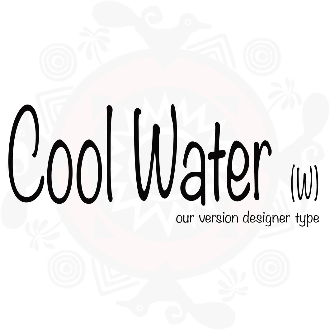 Cool Water Type Fragrance - Women's (Compare to Cool Water Woman by Davidoff)