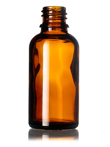 30ml Amber Glass Euro Bottle with 18 DIN Neck Finish