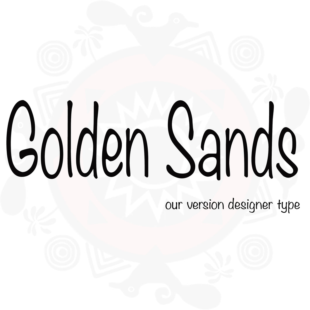 Golden Sands type compared to Golden Sands Yankee type
