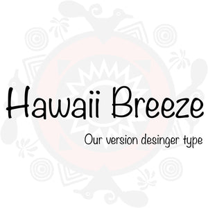 Hawaii Breeze Type Fragrance - Men's