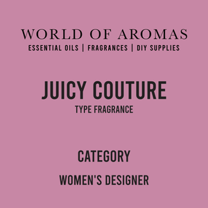 Juicy Couture Type Fragrance - Women's (Compare to Juicy Couture by Juicy Couture)