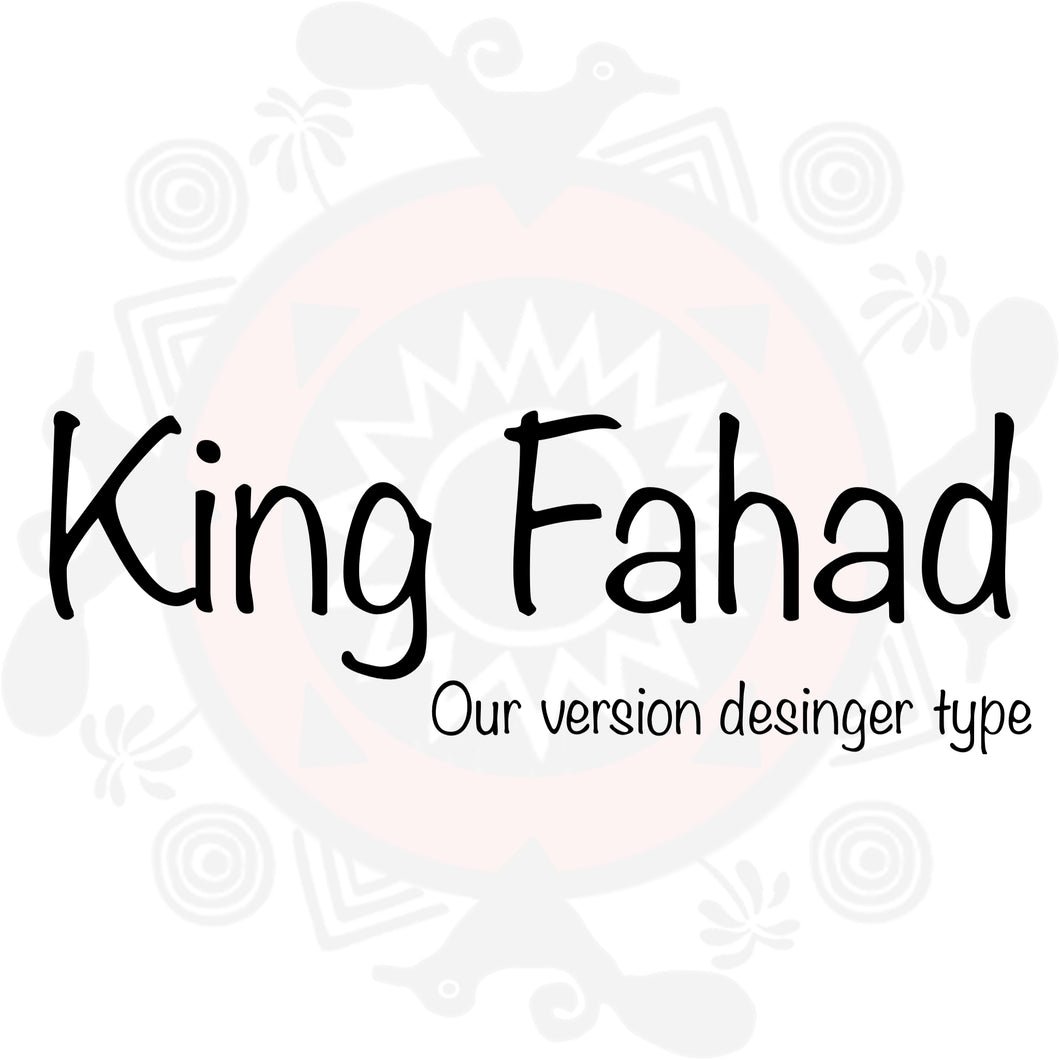 King Fahad Type Fragrance