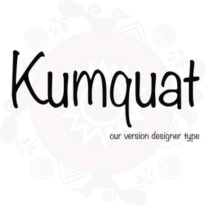 Kumquat Type Fragrance