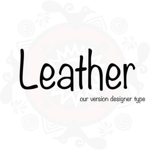 Leather Type Fragrance